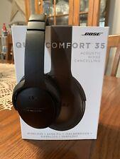 Bose QuietComfort 35 QC35  Over the Ear Wireless Headphones - Black
