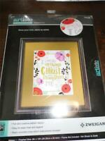 "ZWEIGART ARTISTED Counted Cross Stitch Kit - PHILIPPIANS 4:13 - 8"" x 10"""