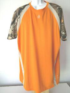 LEGENDARY WHITETAILS 2X Hunting Tee Shirt base layer stretch deer camo 2xt 2xl