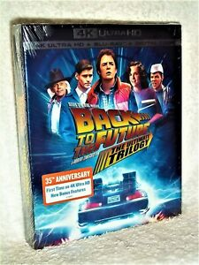 Back To The Future The Complete Trilogy (4K UHD Blu-ray, 2020, 7-Disc) comedy