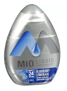 5 Bottles Of  MiO BLUEBERRY LEMONADE WATER FLAVOR ENHANCER PLUS BONUS FLAVOR