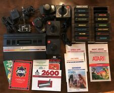 Atari 2600 Console, Games, Joy Sticks, Paddles, EVERYTHING NEEDED to play WORKS