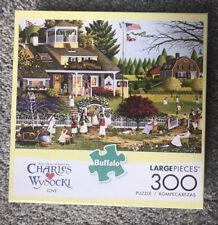 CHARLES WYSOCKI LOVE 300 Buffalo LARGE PIECE JIGSAW PUZZLE