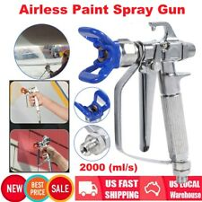 3600 Psi 2000 (ml/s) Airless Paint Spray Gun with Tip & Tip Guard For Sprayers