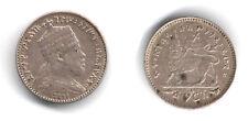 ETIOPIA 1/4 DI BIRR EE 1889 A MENELIK II BB - #30 Q#