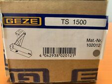 GEZE TS1500 Door Closer Grey - Suitable for Fire Doors - BNIB