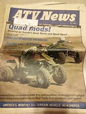 Vintage ATV News Newspaper July 1985 Yamaha YFM 225S