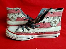 Chuck Taylor Converse Mens size 5 High Top Sneakers American Flag Red Stripe