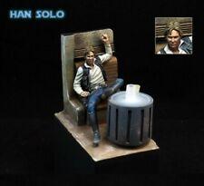 1/24 Scale Star Wars Han Solo Bar Scene Miniatures 75MM Unpainted Resin Model