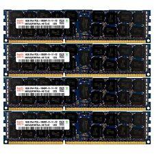 PC3L-10600 4x16GB HP Proliant DL585 DL980 ML370 SL165S SL165Z G7 Memory Ram