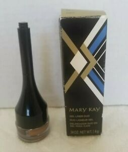 MARY KAY Gel Liner Duo DRAMATIC GOLD .14oz NEW