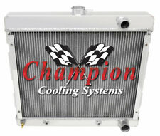 68 69 70 71 72 73 Dodge Dart/Valliant/Duster Champion 3 Row Alum SR Radiator