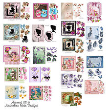 Decoupage Cardmaking CD 5 Assorted