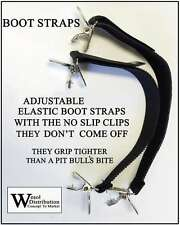 Boot Straps for jeans, pants - Adjustable - Bikers - Stirrups
