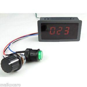 Regolatore velocità motore 6 - 30V DC 240W 8A speed control voltage regulator