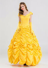 Classic Beauty And The Beast Belle Princess Womens Costume