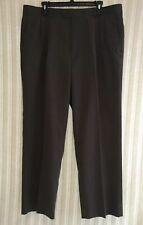 BARRINGTON Mens Dress Pants Slacks Trousers Olive Pleated Front Size 40x30