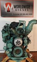 2012 Volvo D13  Diesel Engine Take Out, 435HP, Good For Rebuild Only