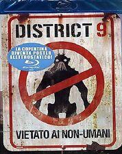 DISTRICT 9 - VIETATO AI NON-UMANI - BLU RAY  BLUE-RAY