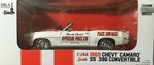 Greenlight 1969 Chevy Camaro SS 396 Convertible Race And Pace 1:24 Scale