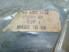 Triumph Spitfire 1500 Left front bumper over rider XKC1536  new old stock
