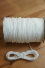 3mm White Nylon Draw String Braided Piping Cord Waterproof Blind Round Tent Line
