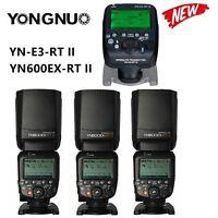 Yongnuo YN600EX-RT II Speedlite Flash Light +YN-E3-RT II Transmitter f Canon Kit