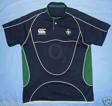 IRELAND (IRFU) / 2007 Training - CANTERBURY - MENS rugby Shirt / Jersey. Size: L