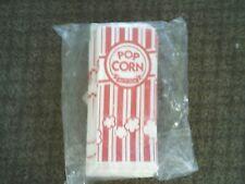 100 Carnival King Popcorn Bags 1 Oz Size New