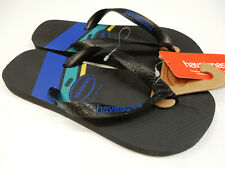 Havaianas Mens Top Trend Sandal Black Blue 8