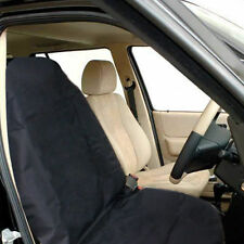 Heavy Duty Front Seat Cover Universal Car Van Black Waterproof Protector