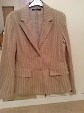 B Young beige light brown cord Jacket size XL approx 14/16