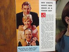 1967 World Journal Tribune TV Mag(MAGGIE  PETERSON/DON KNOTTS/LEIGH TAYLOR-YOUNG