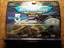 Mint - Babylon 5 Micro Machines Set 2 - 1995 - Sealed - Unopened - No price tag