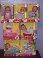 New Vhtf Lot of 7 Jc Toys Berenguer Lil' Cutesies Mini Nursery Sets 2017 Nib