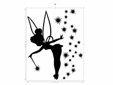 tinkerbell vinyl car sticker, decal, window ORACAL 651 b
