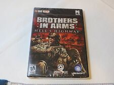 Brothers in Arms: Hell's Highway (PC 2008) PC DVD ONLINE ROM game NOS NEW Mature