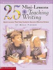 25 Mini-Lessons for Teaching Writing Workbook Home School Grade 3-6