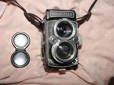 Rollei Rolleiflex  vintage 6x6 twin lens camera medium format 120mm film
