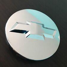 "Chrome Wheel Rim Center Hub Cap Chevy Silverado Suburban Tahoe 83MM 3.25"" 3D"