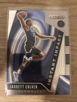 Jarrett Culver 2019-20 Panini Prizm Instant Impact #24 Rookie RC Timberwolves
