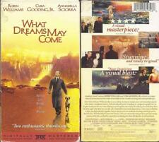 VHS: WHAT DREAMS MAY COME.....ROBIN WILLIAMS-CUBA GOODING JR.