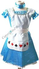 "Fancy Dress Book Day ALICE IN WONDERLAND Costume AGE 7-8 Fits up to 26"" chest"