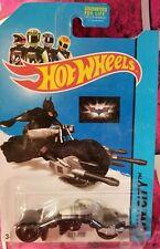 BAT-POD BATMAN DARK KNIGHT HW CITY 2014 MOTORCYCLE BIKE HOT WHEEL DIECAST METAL