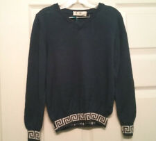 YOUNG VERSACE BOYS CHILDREN KIDS PULLOVER SWEATER!! SIZE 6