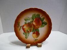 """Antique Petrus Regout & Co Maastricht-Holland Apple Decorative Plate 9 1/4"""""""