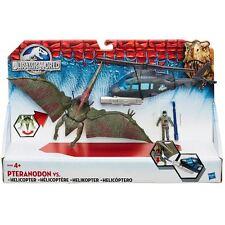 NEW Jurassic Park World Helicopter Vehicle Petranodon Action Figure Dinosaur Toy