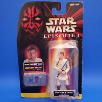 Star Wars Episode I Obi-Wan Kenobi Jedi Duel CommTech Chip Figure