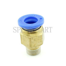 Male Connector 8mm Tube 1/8 BSPT Threaded Pneumatic Quick Release Air Fitting