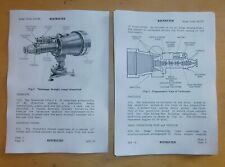 Telescope.Straight,Image Intensified.Cased.L4A1.User handbook.61538.